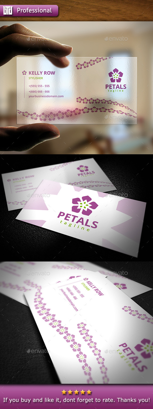 GraphicRiver Beauty Business Card 10369513