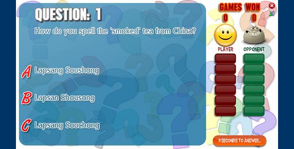 Quiz Battle - ActiveDen Item for Sale