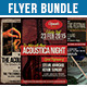 Acoustic Flyer Bundle Volume 1 - GraphicRiver Item for Sale