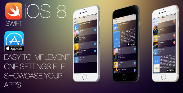 CodeCanyon iTunesPortfolio iOS8 Swift Project 10369819