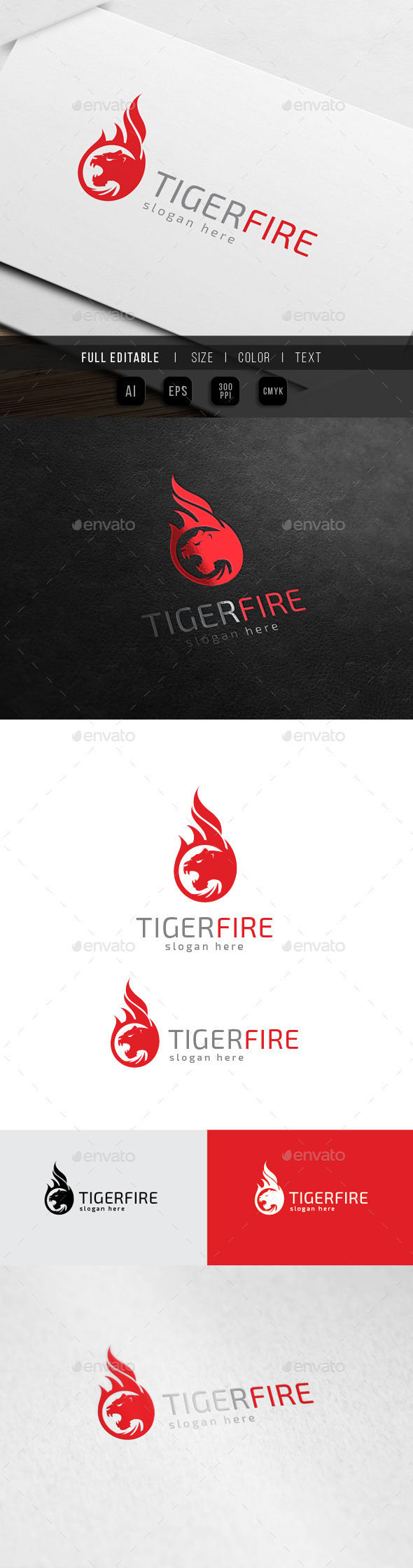 Tiger Fire - Panther Flame