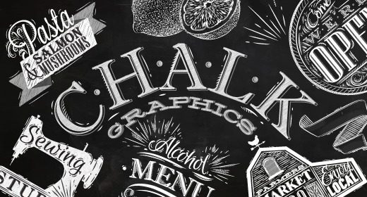 Chalk graphics