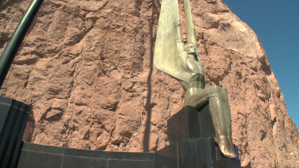 Angel Sculptures At Hoover Dam 1 Of 3