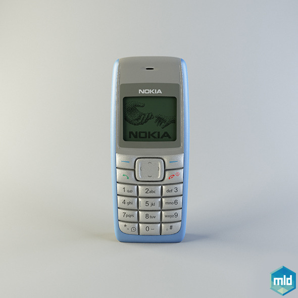 Nokia 1110 - 3DOcean Item for Sale