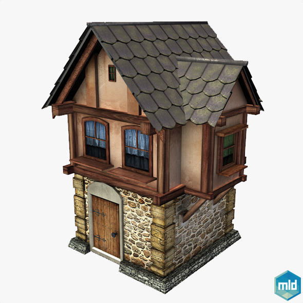 House Medieval - 3DOcean Item for Sale
