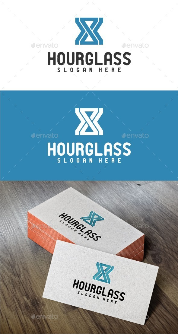 GraphicRiver Hourglass Logo Template 10322728