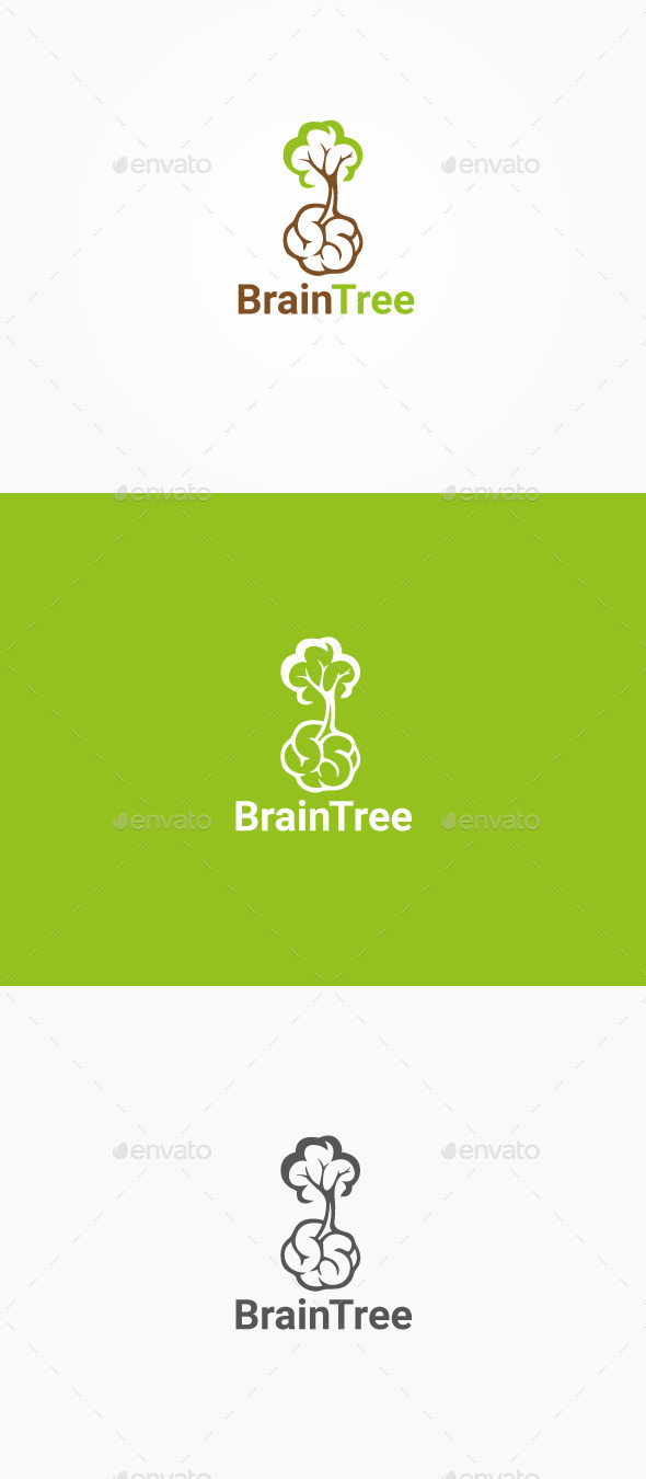 GraphicRiver Brain Tree 10321233