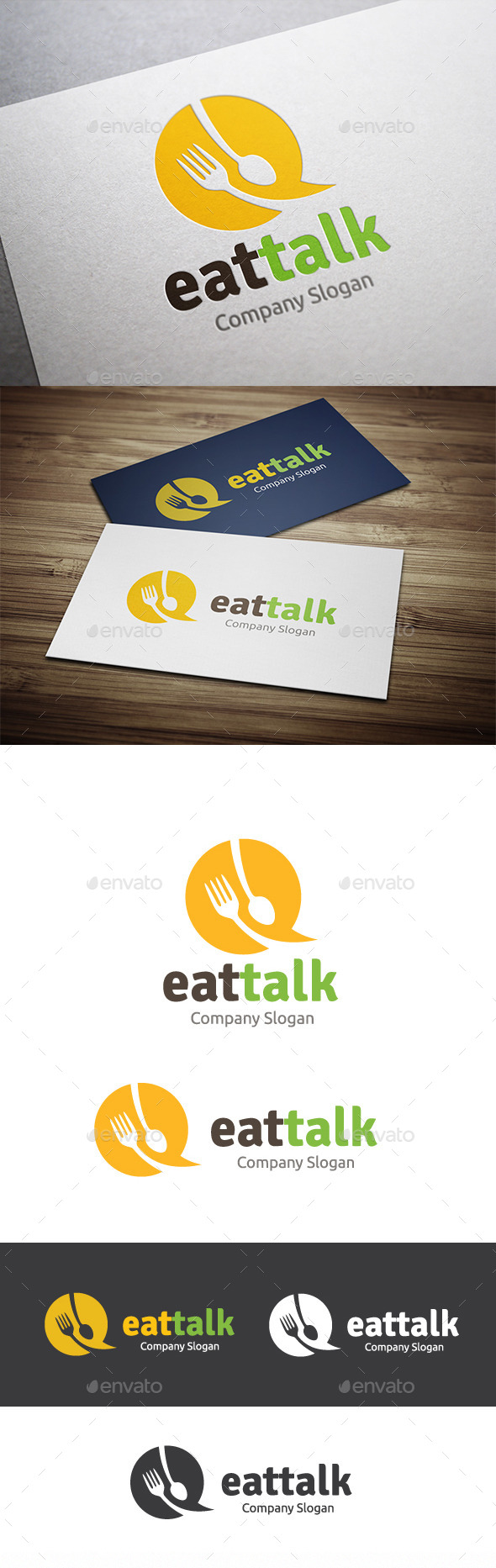 GraphicRiver Eat Talk 10371826