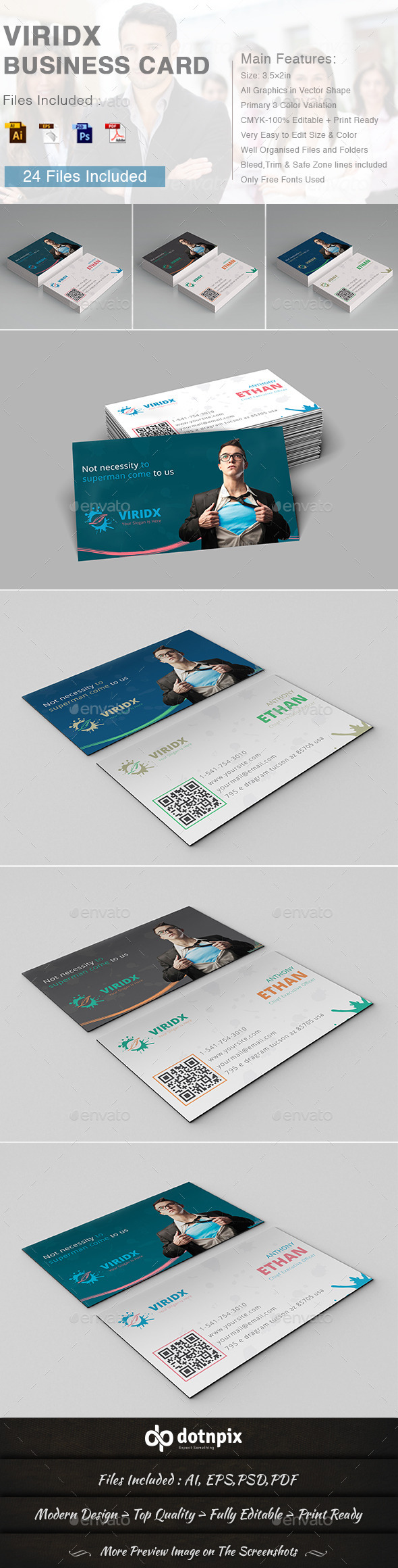 Viridx Business Card