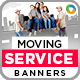 Moving Service Banners - GraphicRiver Item for Sale