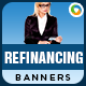 Refinancing Banners - GraphicRiver Item for Sale