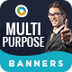 Multipurpose Banners - GraphicRiver Item for Sale