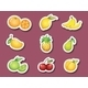 Sticker Series of Fruits - GraphicRiver Item for Sale