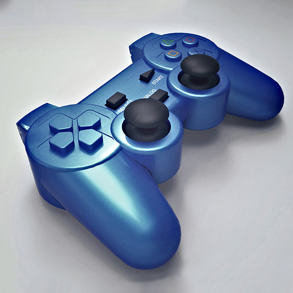 Game Pad Cinema 4d Model - 3DOcean Item for Sale