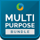 Multipurpose Banners Bundle - 4 Sets - GraphicRiver Item for Sale