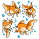 Goldfish Cartoon - GraphicRiver Item for Sale