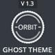 Orbit - Masonry Style Responsive Ghost Theme - ThemeForest Item for Sale