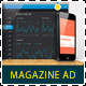 Web App Tech & Hosting Magazine Ad - GraphicRiver Item for Sale