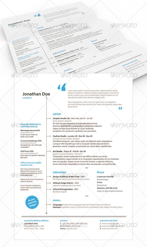 Get Minimal - Resume 02