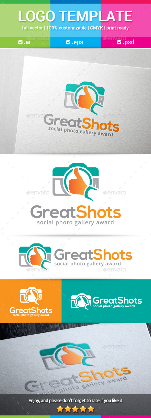 GraphicRiver Great Shots Logo 10373003