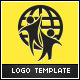 Human World Logo Template - GraphicRiver Item for Sale