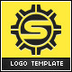 Strong Gear - Letter S Logo - GraphicRiver Item for Sale