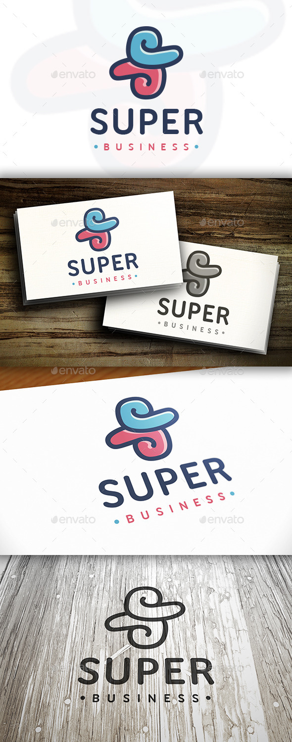 GraphicRiver Super S Letter Logo 10373991