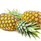 Pineapple fruit isolated on a white background. - PhotoDune Item for Sale