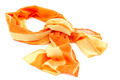 Orange scarf or shawl on white background. - PhotoDune Item for Sale