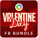 Valentines Day Facebook Cover Bundle - 6 Designs - GraphicRiver Item for Sale