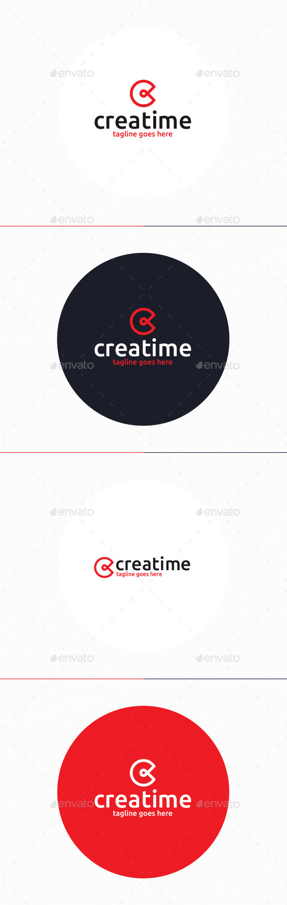 GraphicRiver Creatime Logo Letter C 10374386