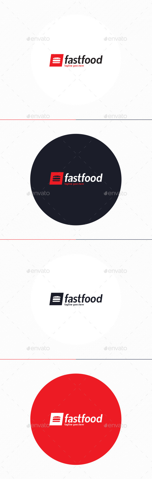 GraphicRiver Fast Food Logo 10374528