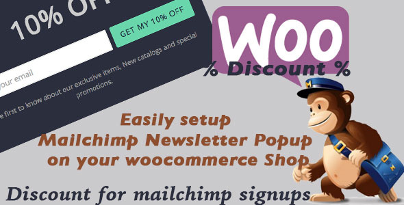 CodeCanyon Woocommerce Mailchimp Discount 10229569