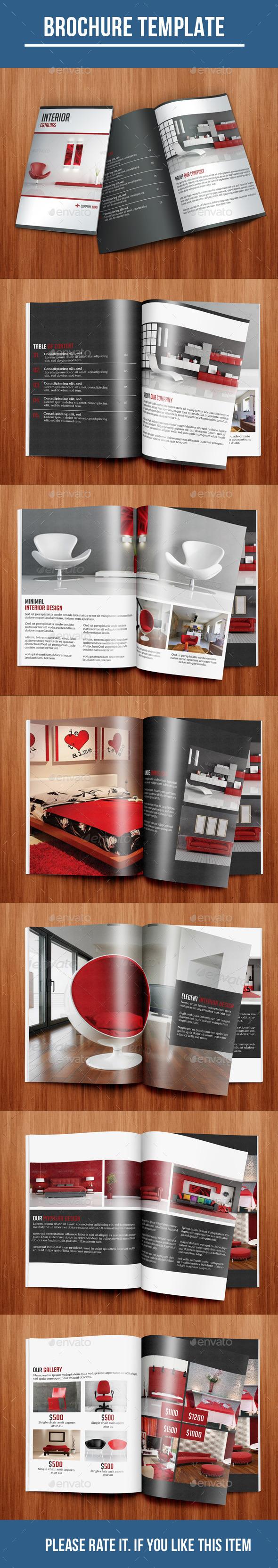 GraphicRiver Interior Brochure 10374619