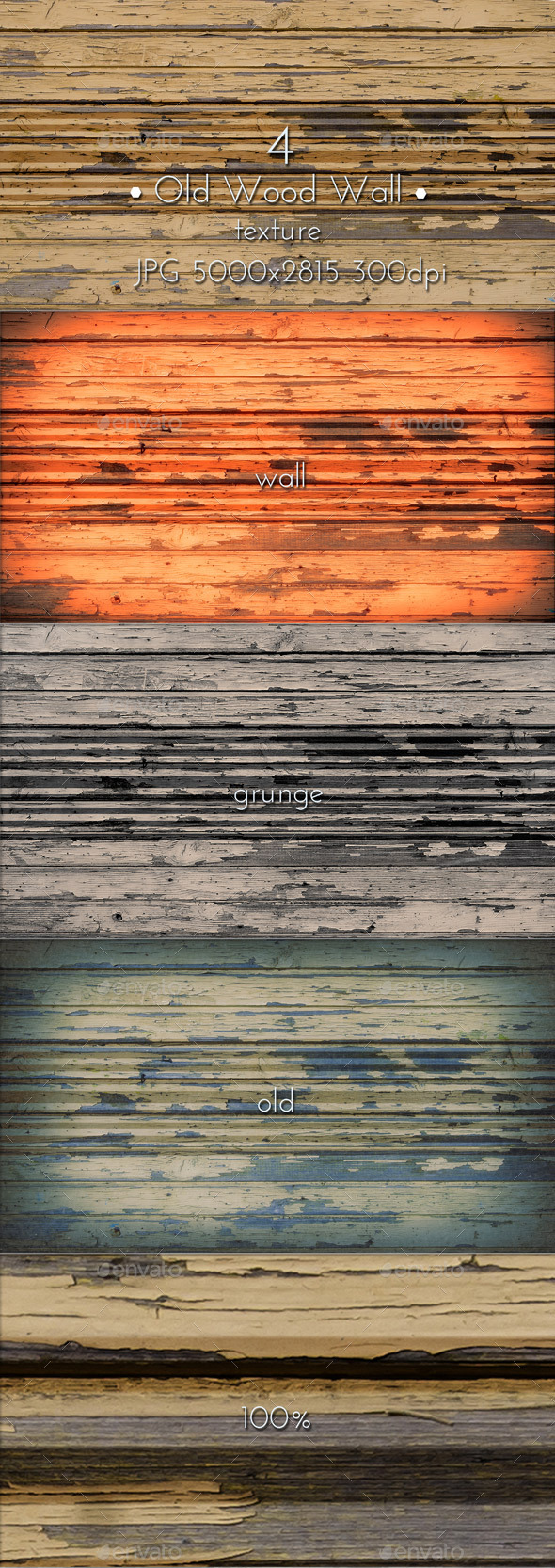 GraphicRiver Old Wooden Wall 10374689