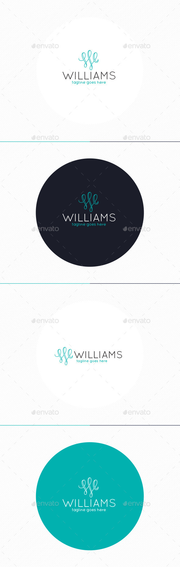 GraphicRiver Williams Logo Letter W 10374733