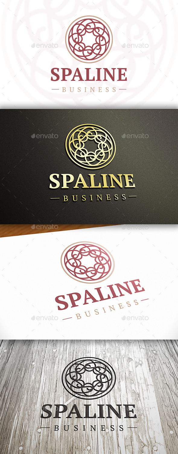 GraphicRiver Spa Line Logo 10374855