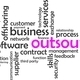 word cloud - outsourcing - PhotoDune Item for Sale