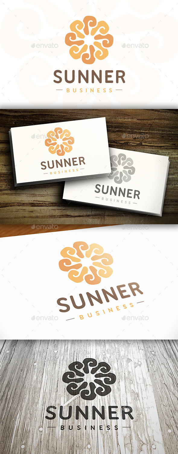 GraphicRiver The Sun Logo 10375082