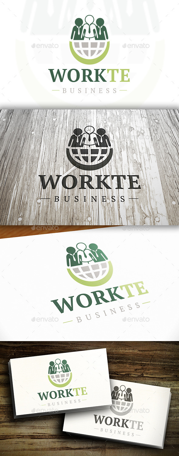 GraphicRiver World Team Logo 10375756