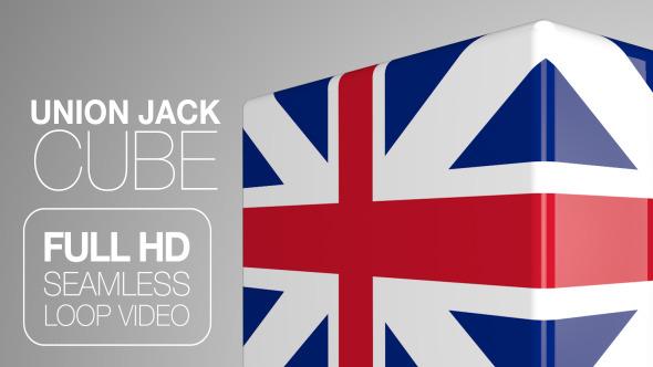 Union Jack Cube