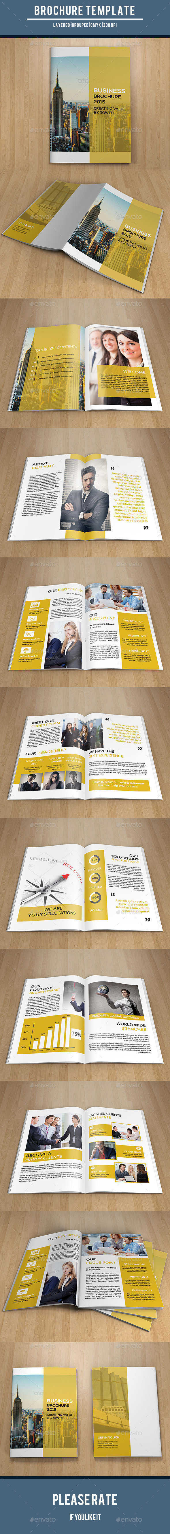 Corporate Bifold Brochure-V194