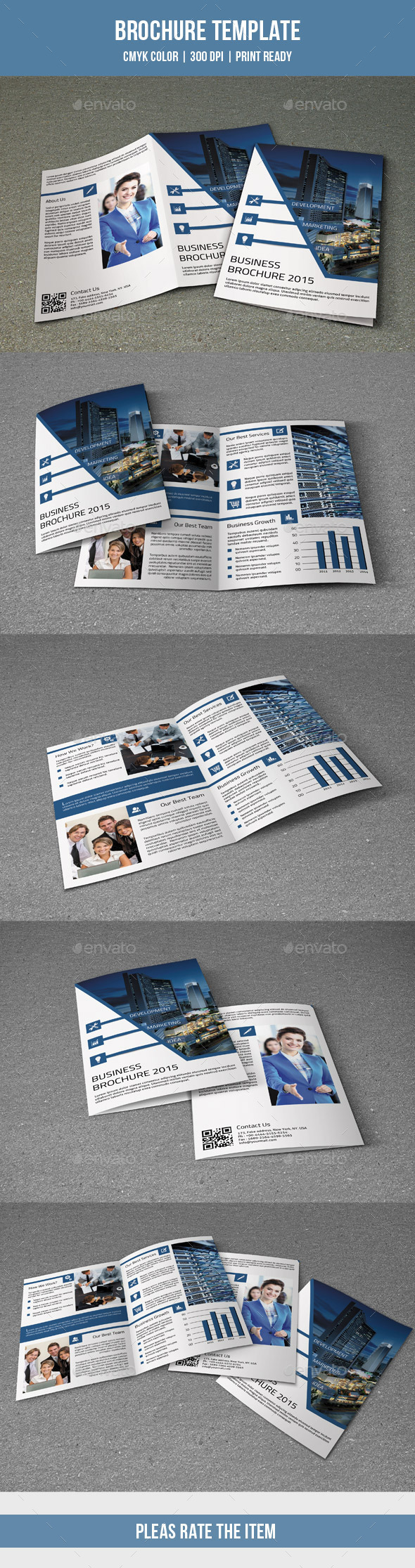 GraphicRiver 4 Pages Corporate Brochure-V195 10376590