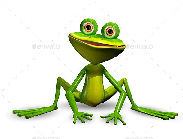 GraphicRiver Green Frog 10376625