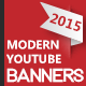 Modern Youtube Banners - GraphicRiver Item for Sale