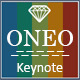 Oneo Keynote Template - GraphicRiver Item for Sale