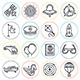 Aviation Line Icons - GraphicRiver Item for Sale