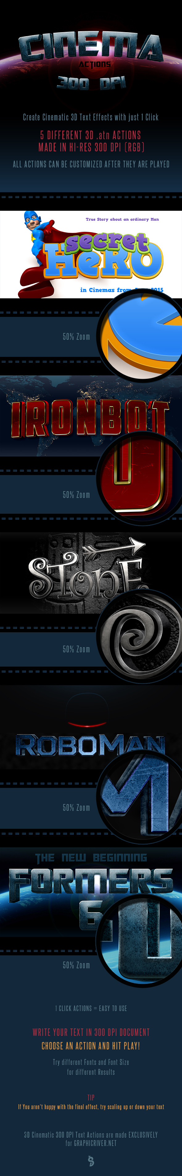 GraphicRiver Cinematic 300 DPI Text Actions 10376996