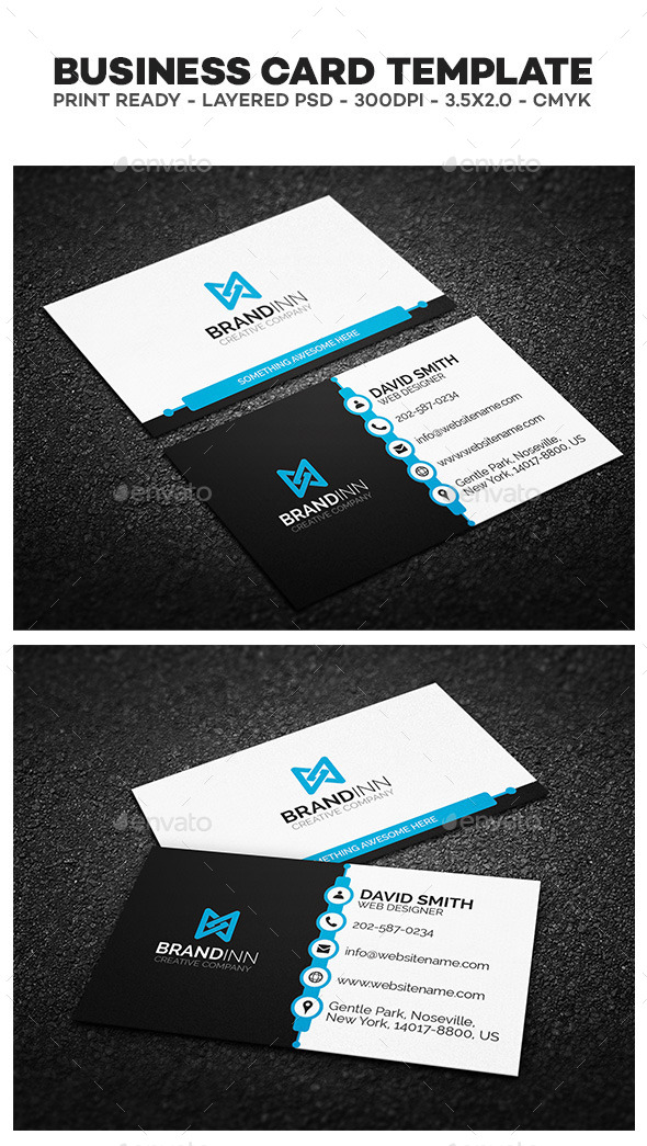 GraphicRiver Creative Corporate Business Card 02 10337343