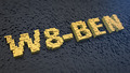 W8-BEN cubics - PhotoDune Item for Sale